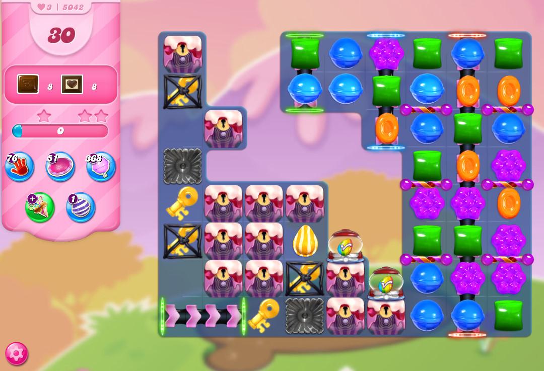 Candy Crush Saga level 5042