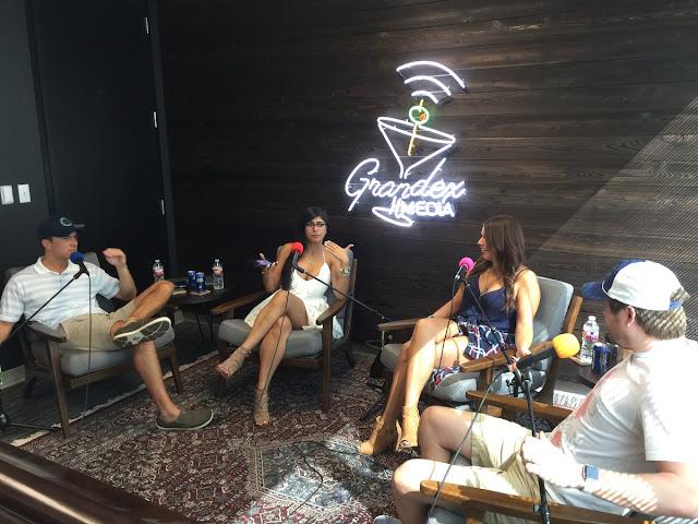 Mia Khalifa Hot Photo In An Interview