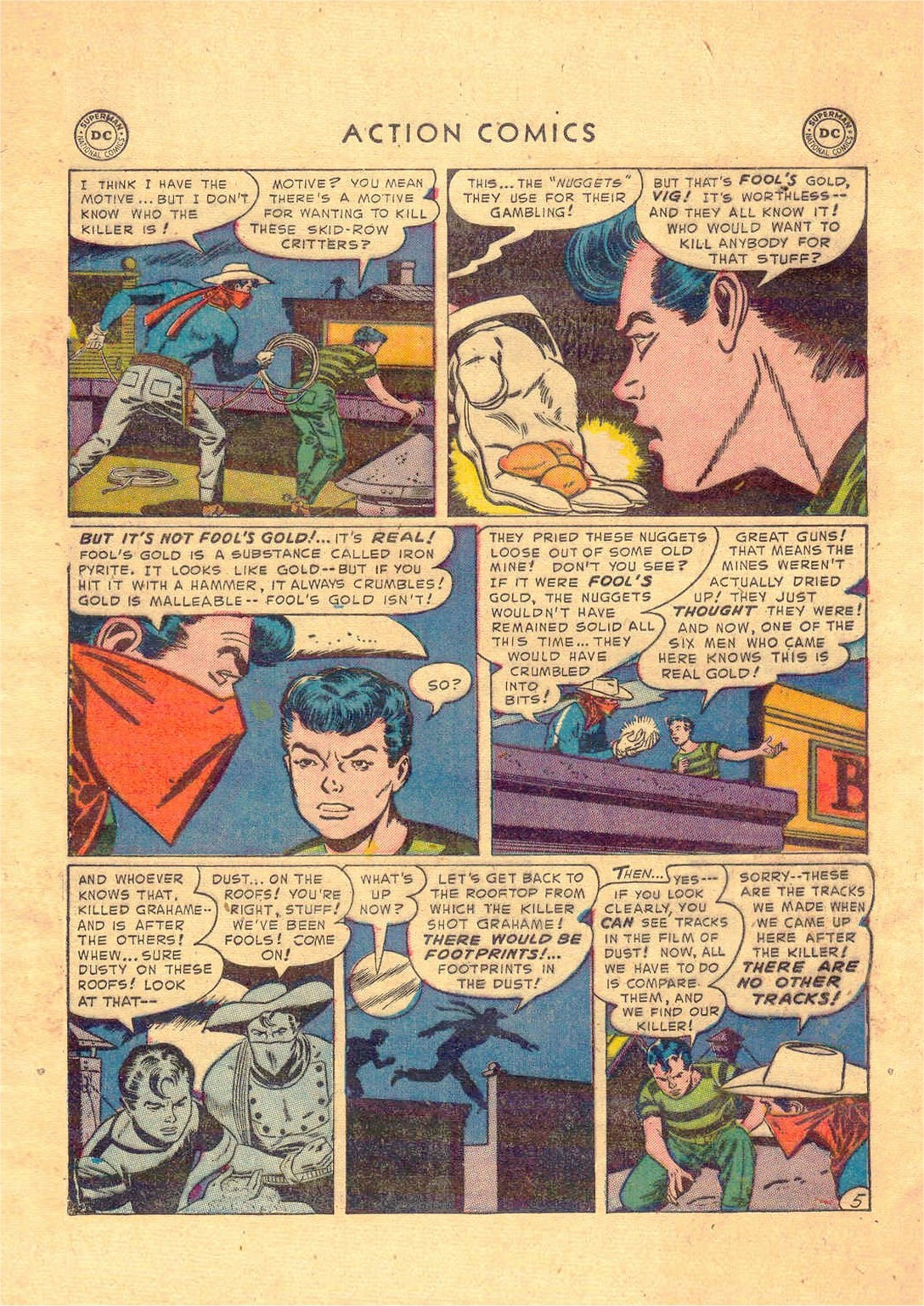 Read online Action Comics (1938) comic -  Issue #181 - 37