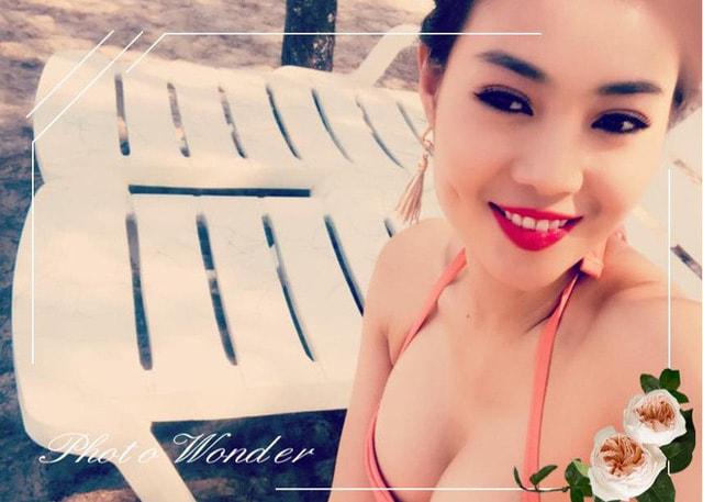 Vẻ bốc lửa Thanh Hương 'Người phán xử' khi mặc bikini khoe ngực đầy - Ảnh 5