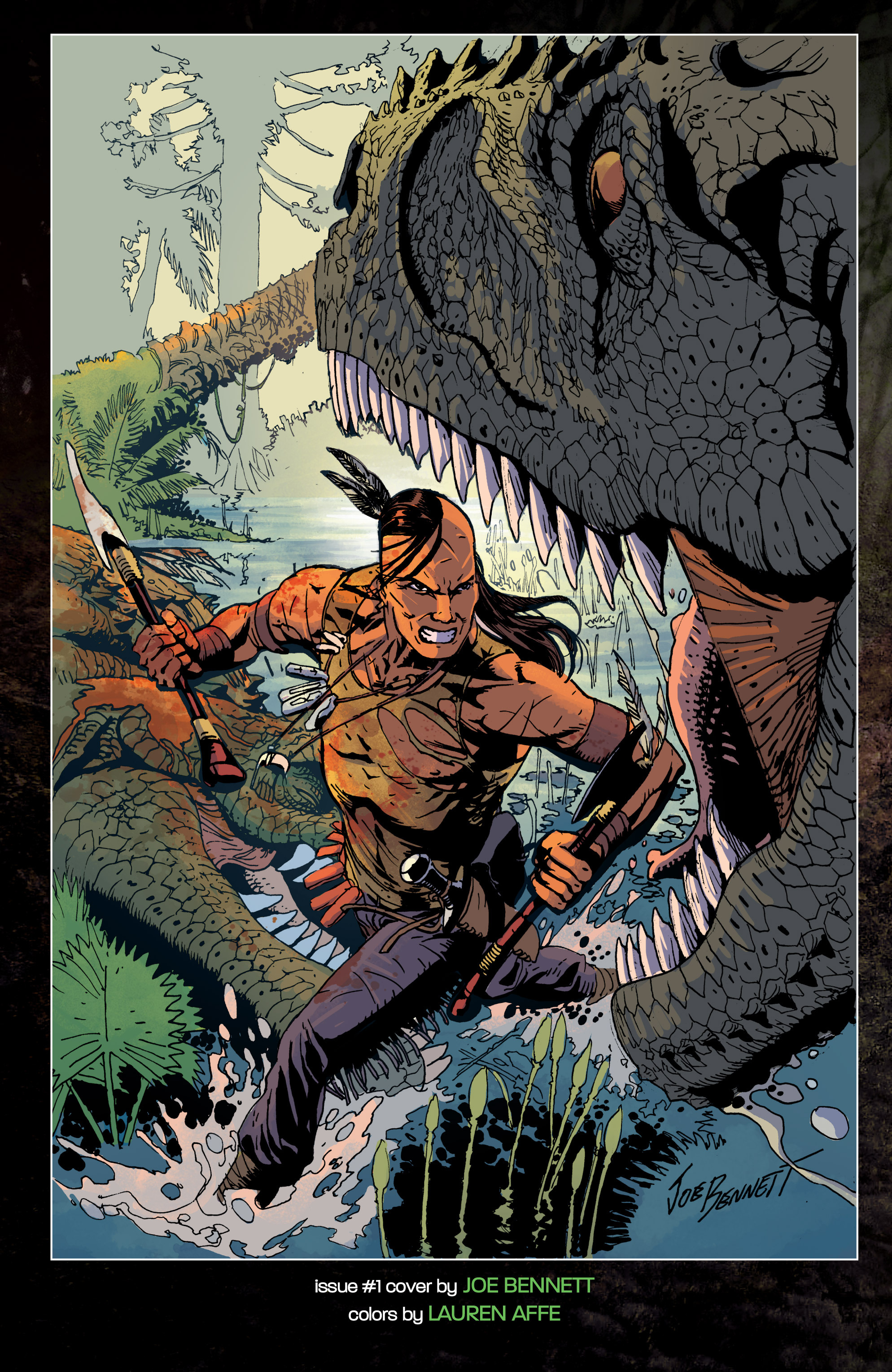 Read online Turok: Dinosaur Hunter (2014) comic -  Issue # _TPB 1 - 119