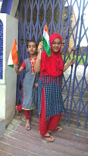 Independence day at Mughal sarai
