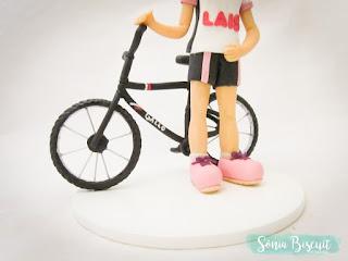 Topo de Bolo, 15 Anos, Ciclista, Bicicleta