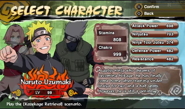 Naruto Shippuden: Legends Akatsuki Rising (USA) PSP ISO Screenshots #3