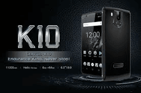 Spesifikasi dan Harga Smartphone Oukitel K10