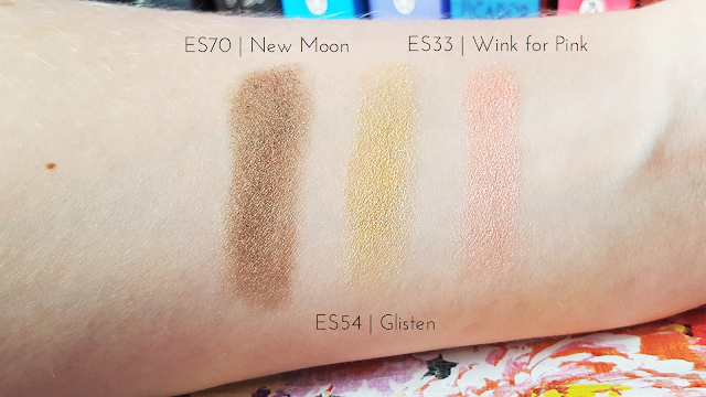 Morphe Brushes Single Eyeshadows Review & Swatches - New Moon, Glisten and Wink for Pink