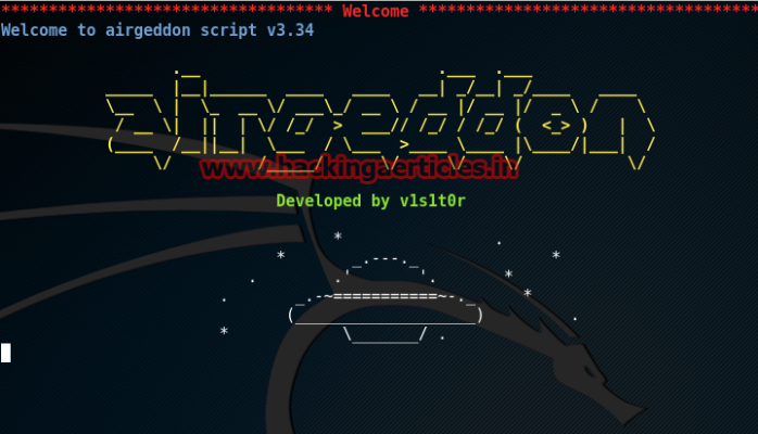How to hack wifi wps pin using Airgeddon on kali linux 2 0