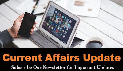 Current Affairs Updates - 1st November 2017