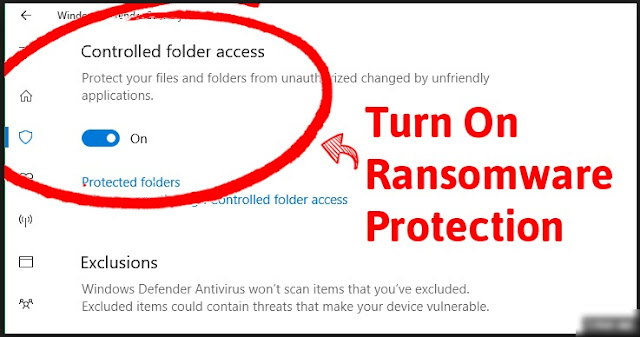 New Features Added To Windows 10 Will Now Hide Your Important Files From Ransomware