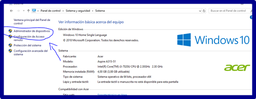 Windows 10: no ajusta brillo, no sirve HDMI (solución)
