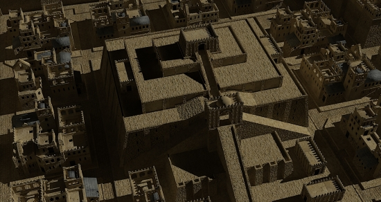 Ziggurat in Ancient Summeria