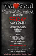 Fri 5/24: We Love Soul @ HOB Foundation Room