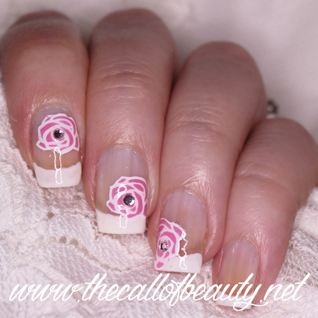 Romantic Bride Nail Art