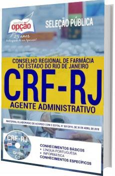 Apostila CRF-RJ 2018 Agente Administrativo