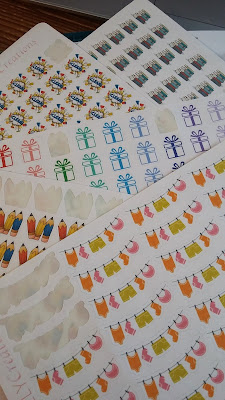 cute planner stickers for Happy Planner or Erin Condrin