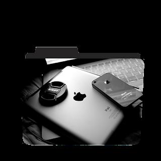 Apple Ipad folder Icon