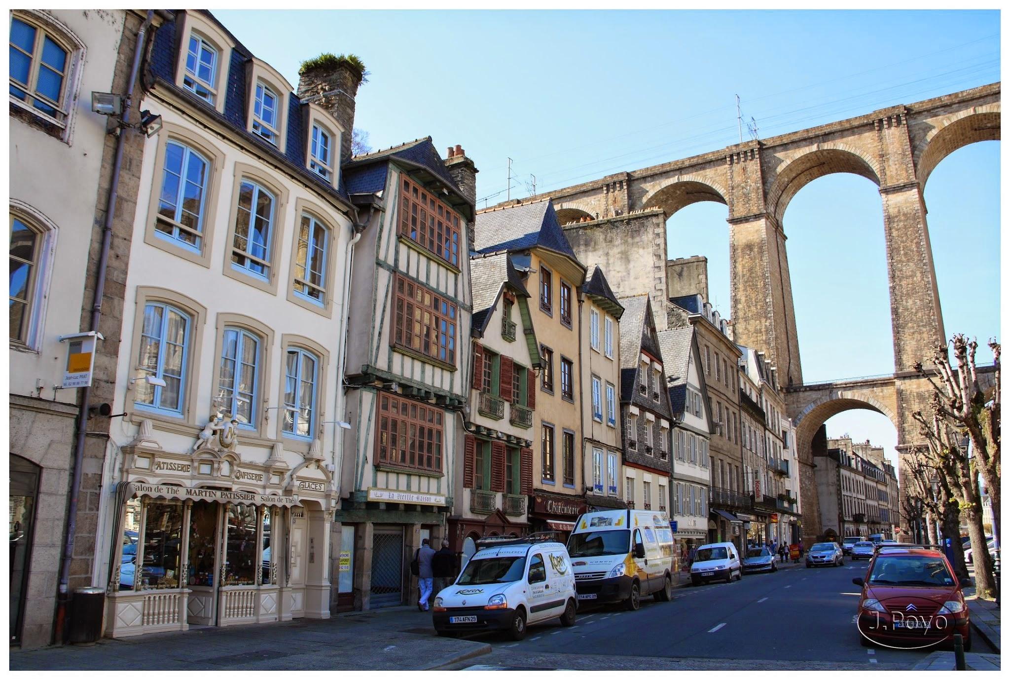 Ruta en coche por los lugares más bonitos de Bretaña: Morlaix