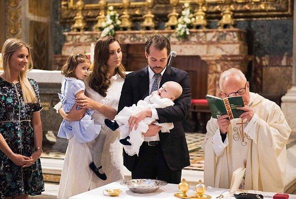 Duchess Maria Teresa, Prince Felix and Princess Claire, Prince Guillaume, Princess Stephanie, Princess Amalia, Prince Louis, Princess Alexandra, Prince Sebastien, Prince Nikolaus