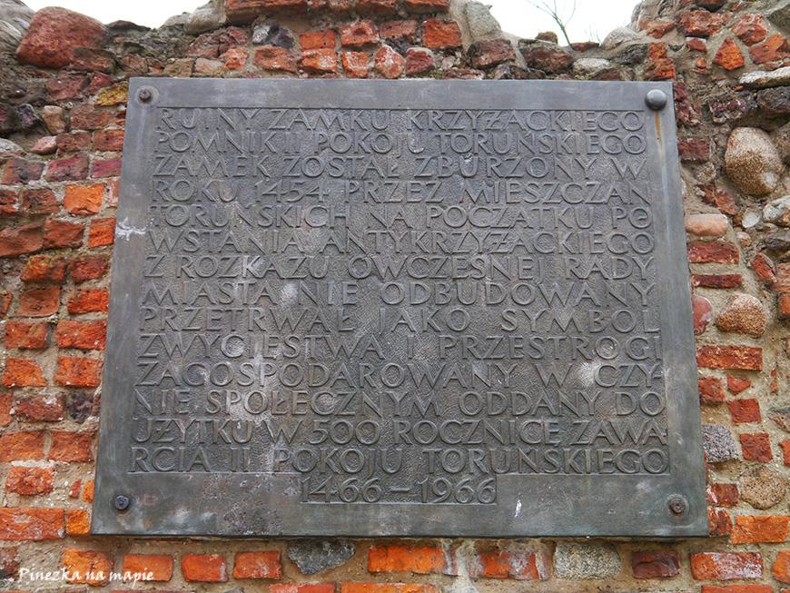 Zamek Krzyżacki w Toruniu