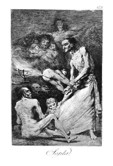 Goya Los Caprichos - Sopla / Φύσημα / Blow