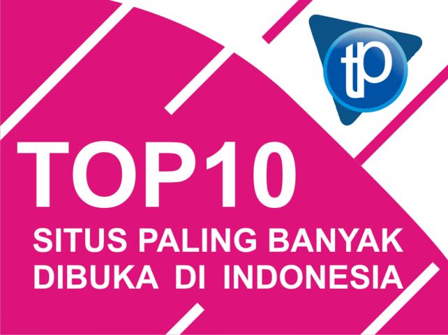 TOP 10 situs terpopuler di indonesia 2018, Google bukan no 1