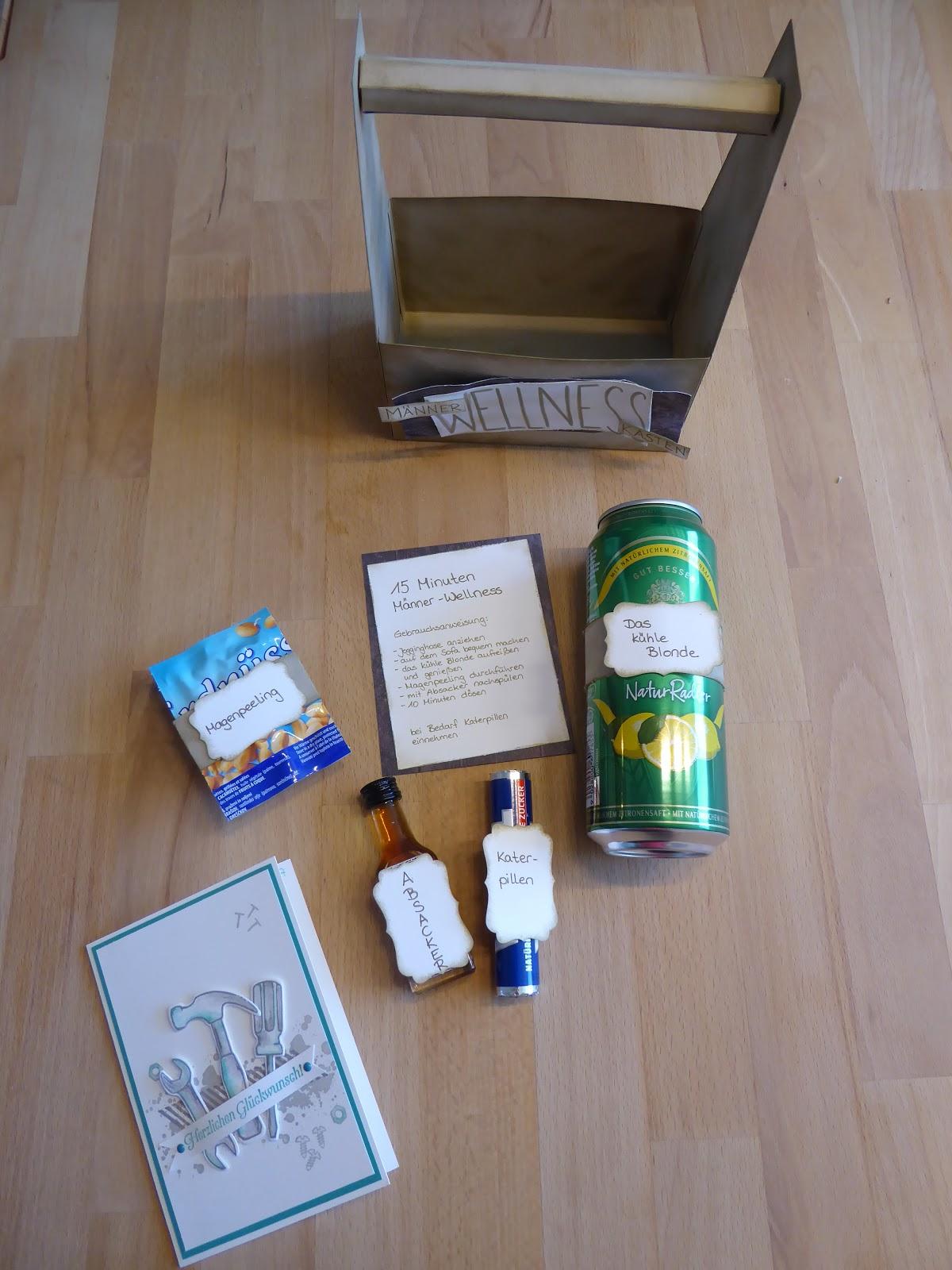 Männer Wellness Box