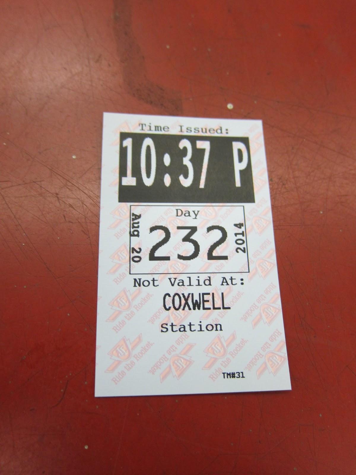 Coxwell station transfer