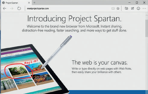 Novità browser Edge Windows 10 nuova grafica
