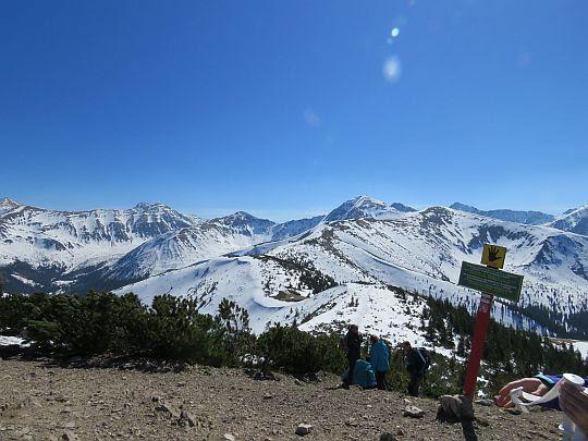 Słowackie szlaki powyżej schronisk są jeszcze zamknięte do 15 czerwca.