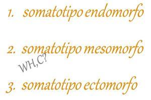 Quale dei 3 somatotipi corporei è il tuo e sai come influisce sulla tua forma del corpo