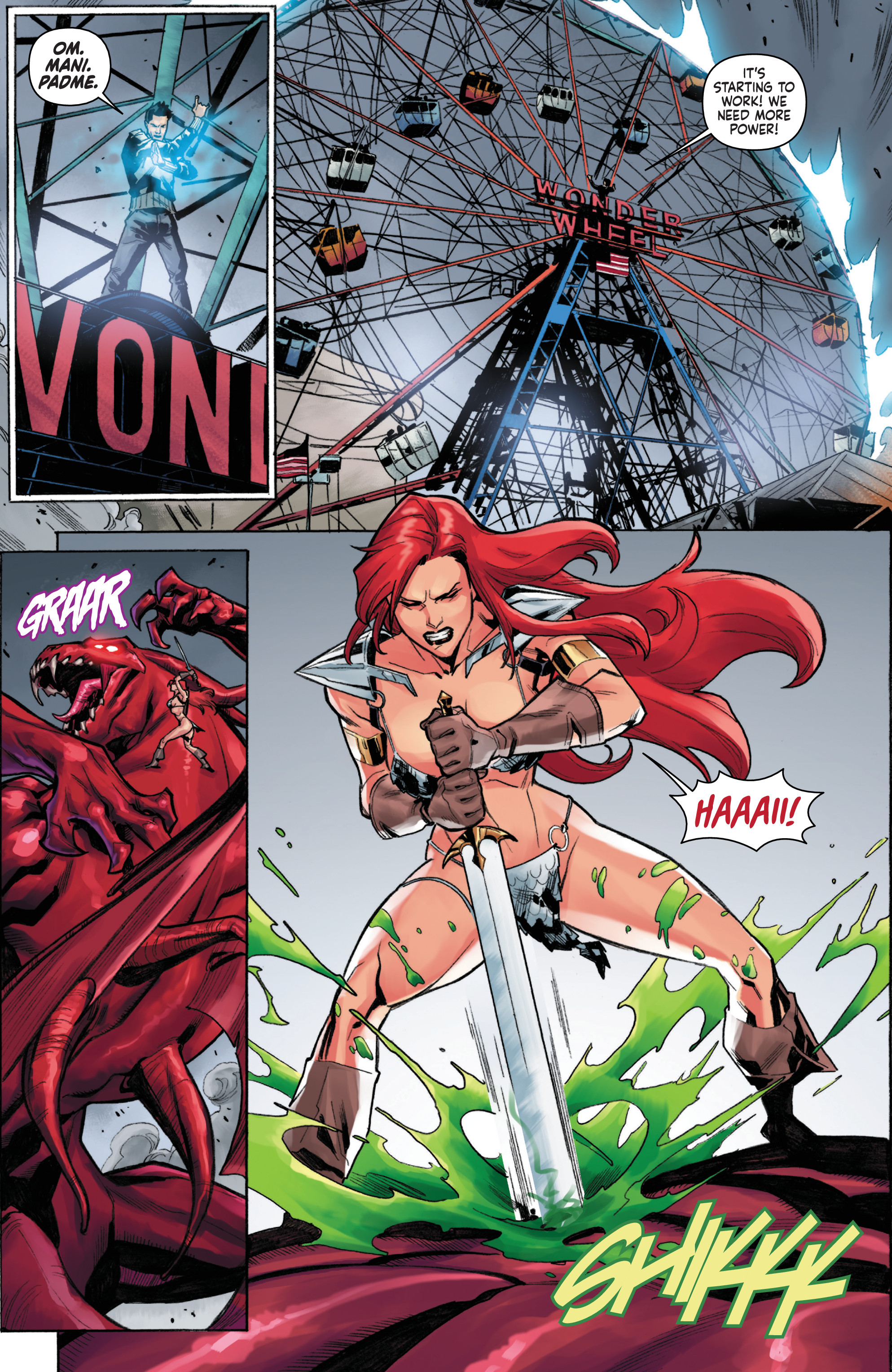 Read online Red Sonja, Volume 4 comic -  Issue #6 - 13