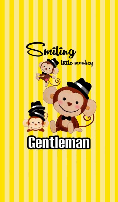 Smiling little monkey~Gentleman