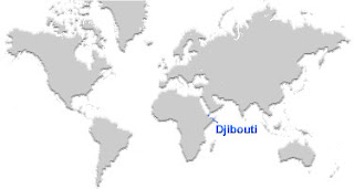 image: Djibouti Map location