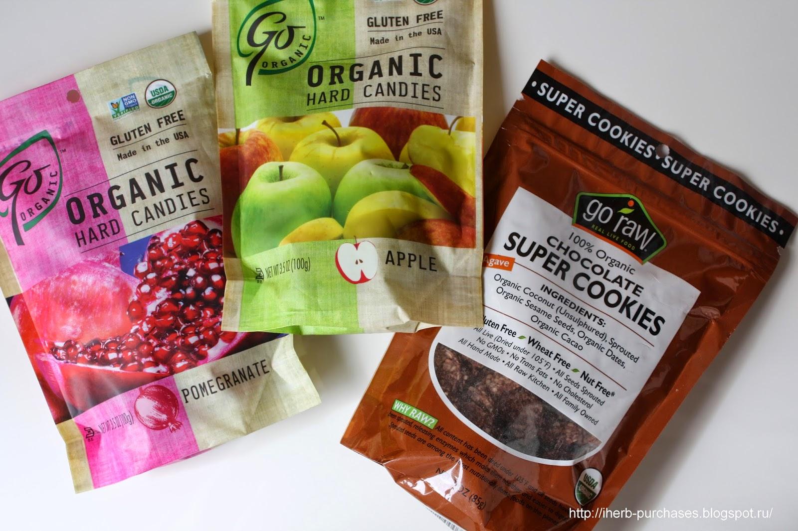 конфеты, леденцы, вкусно, полезно, отзыв, iherb