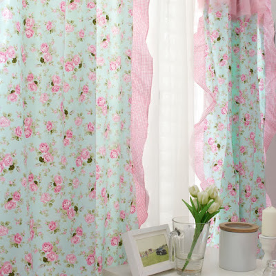 http://www.curtainsmarket.com/beautiful-green-and-pink-rose-lace-curtain-for-girls-p-497.html