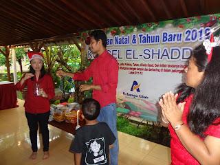 Perayaan natal elshaddai