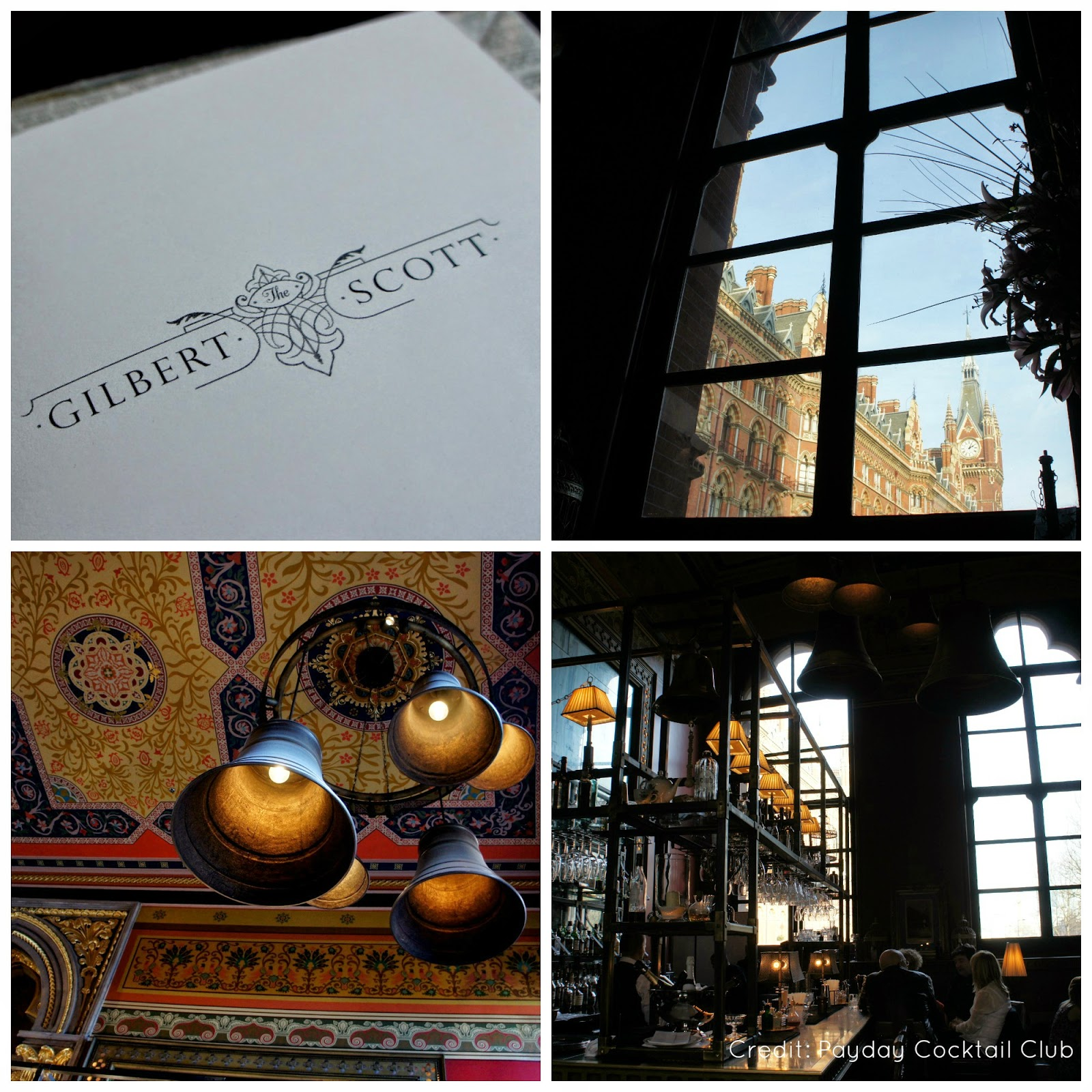 Cocktails at the Gilbert Scott