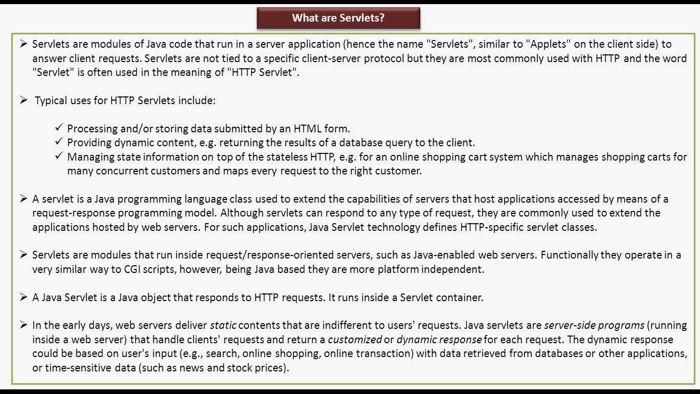 Java ee servlets introduction servlets introduction baditri Gallery