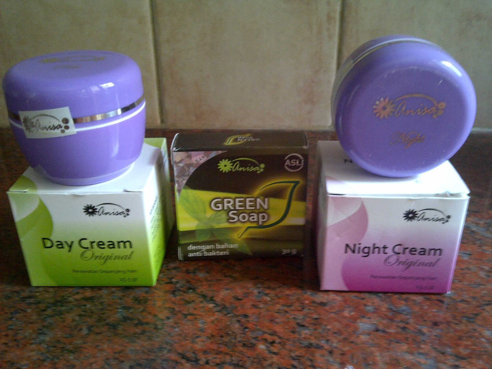 Paket Cream ANISA New Original