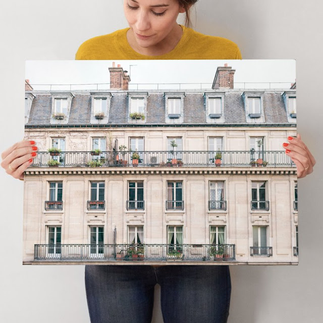 Pink Paris art print from Minted at Hello Lovely's Arizona Fixer Upper