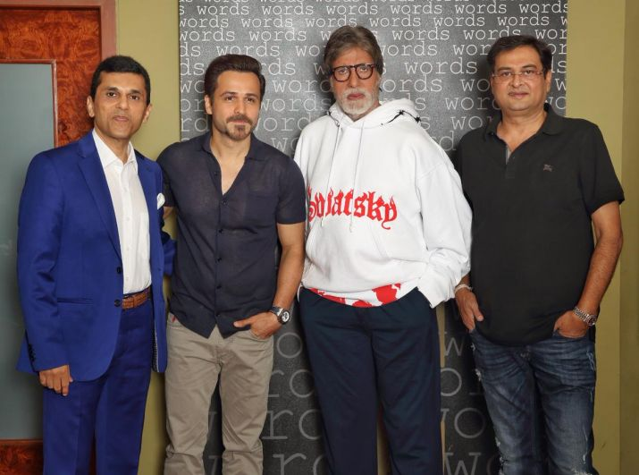 Amitabh Bachchan and Emraan Hashmi to come together for first time in thriller-mystery