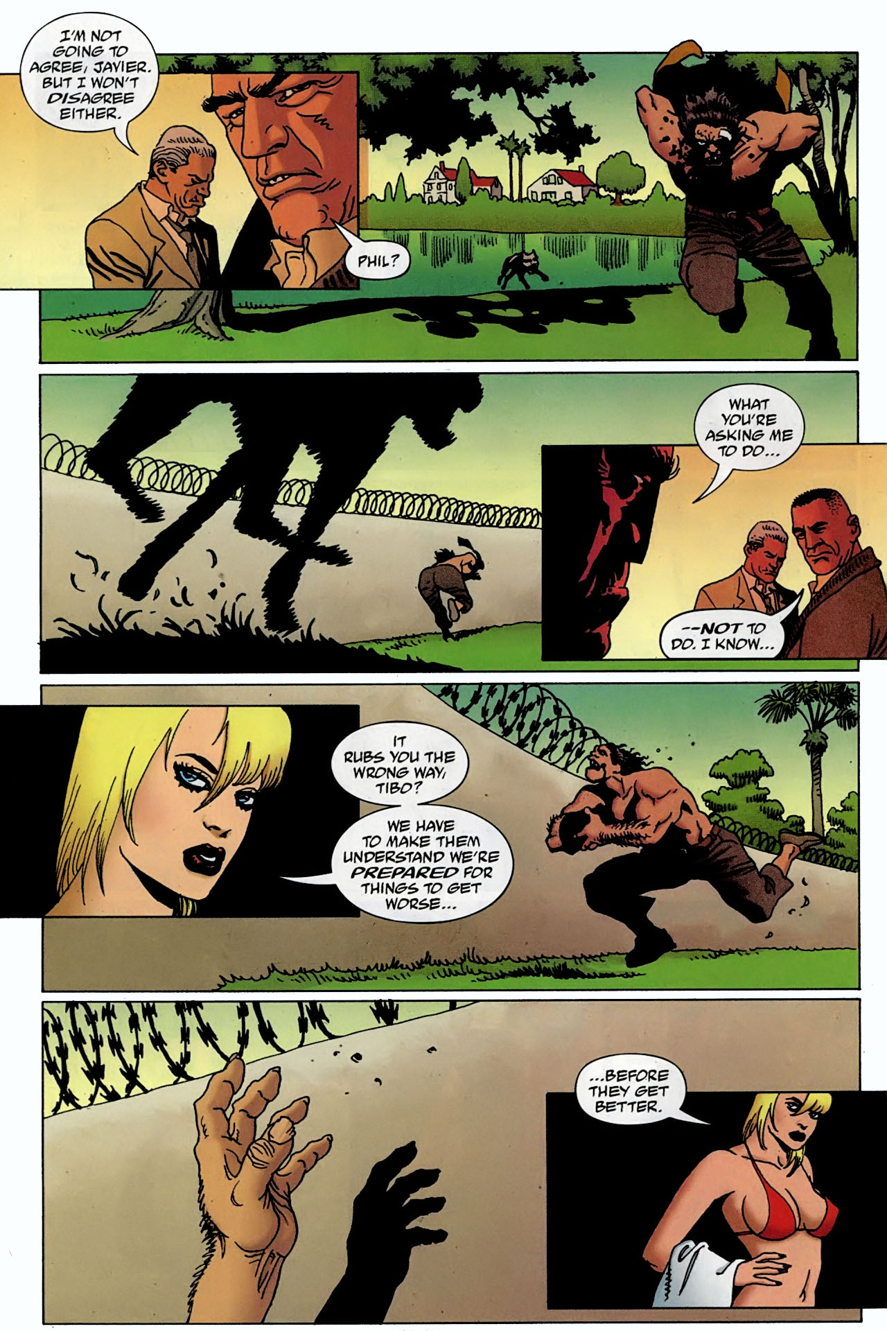 Read online 100 Bullets comic -  Issue #97 - 19