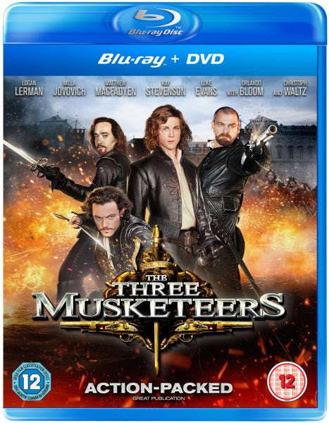 The Three Musketeers 2011 Hindi Dubbed Dual BRRip 300mb