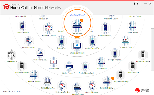 Supratim Sanyal's Blog: Trend Micro HouseCall for home networks - 1st subnet