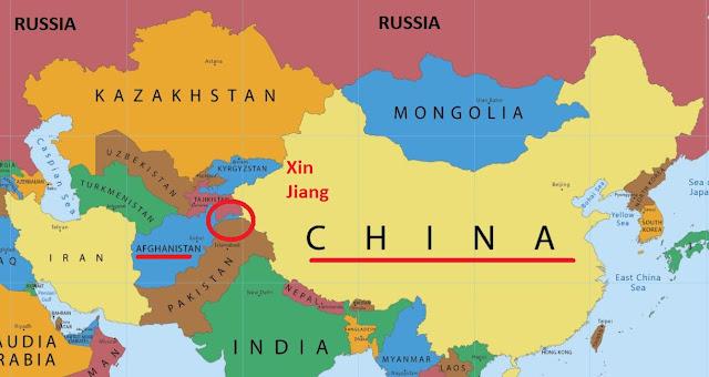 Αποτέλεσμα εικόνας για κινα χάρτης