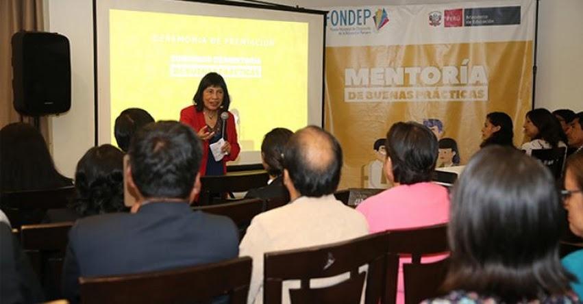 MINEDU: Maestros de 24 colegios del país serán los mentores de buenas prácticas - www.minedu.gob.pe