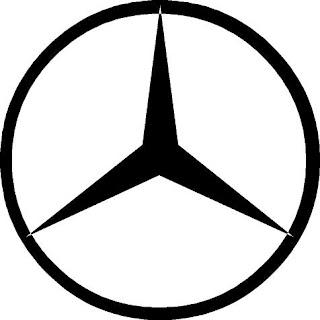 Mercedes emblem peace sign #1