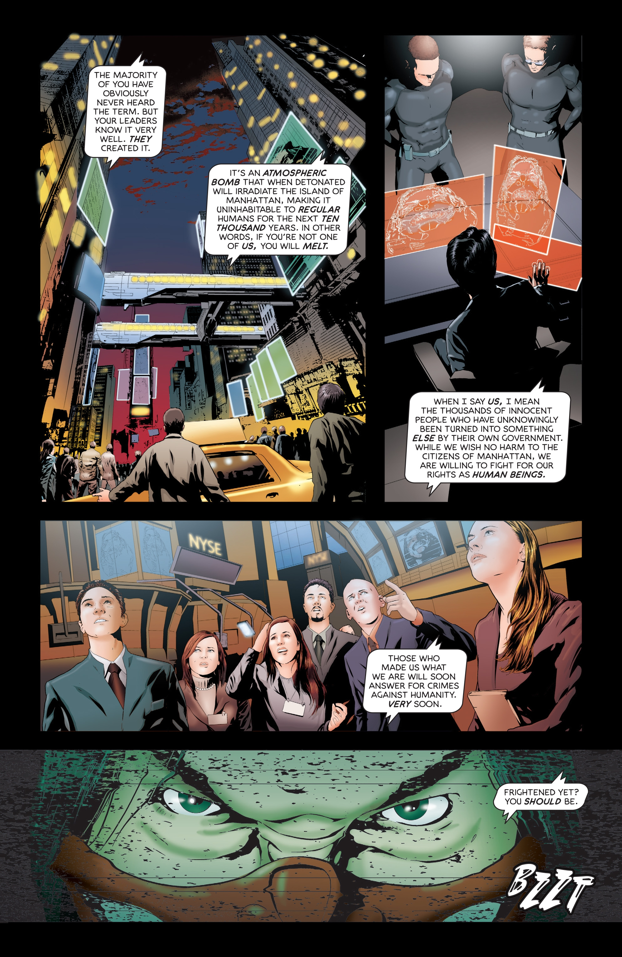 Read online Failsafe comic -  Issue #3 - 10