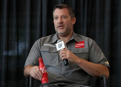Tony Stewart, driver of the #14 Chevrolet for Stewart-Haas Racing (Streeter Lecka/Stewart-Haas Racing via Getty Image)