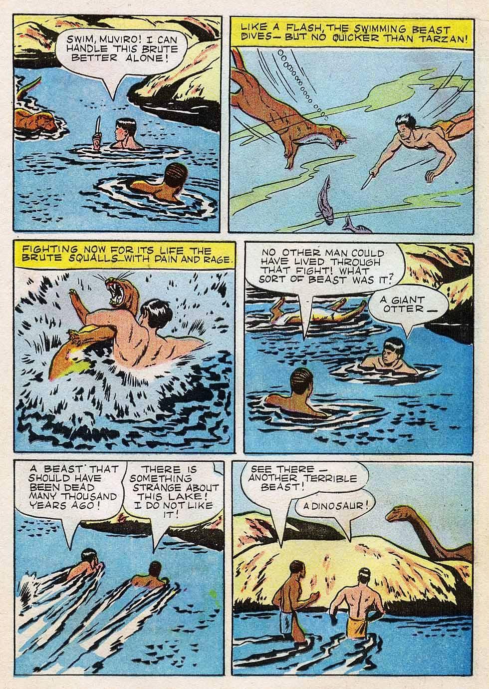 Tarzan (1948) issue 7 - Page 15